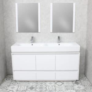 white bathroom vanity mirror cabinets