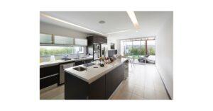 make your kitchen looks bigger